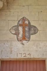 Eglise Saint-Clair -  Eglise de Fontanes - 20140926 - Détail