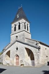 Eglise Saint-Clair -  Eglise de Fontanes - 20140926 - Vue globale