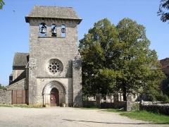 Ancien prieuré -  L'église de Laramière (Lot) -- Photo amateur prise par moi-même