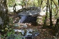 Dolmen dit de Joncas - Français:   Dolmen de Joncas, Limogne-en-Quercy, Lot