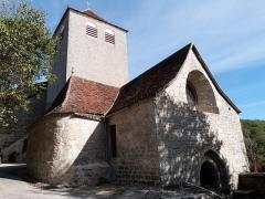 Eglise Saint-Christophe - Français:   Eglise Saint-Christophe (Montvalent, Lot)