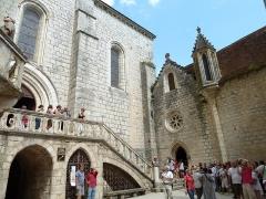 Eglise Saint-Sauveur et crypte Saint-Amadour - Français:   Sanctuaire de Rocamadour