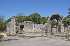 Ruines de l'ancien hôpital - Français:   Ruines de Hôpital de l\'Hospitalet de Rocamadour, Lot, France