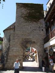 Porte dite Malbec ou Salmon - English: Rocamadour, Lot, FRANCE