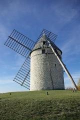 Moulin à vent de Boisse - English: Tower windmill of Boisse (commune of Sainte-Alauzie, Lot, France).