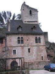 Immeuble du 14e siècle -  Auberge des mariniers, Saint-Cirq-Lapopie