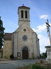 Eglise - English: Church in Saint-Jean-Mirabel, Lot, France