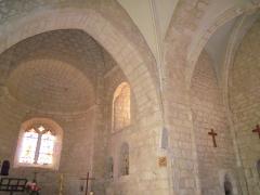Eglise - English: Saint-Pantaleon church in Saint-Pantaleon (Lot)