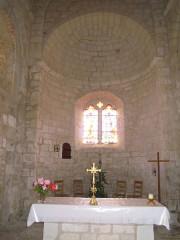 Eglise - English: Saint-Pantaleon church, Saint-Pantaleon (Lot).