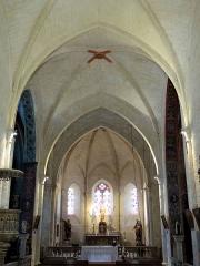 Eglise Saint-Jacques-le-Majeur - Français:   Salviac - Église Saint-Jacques-le-Majeur - Nef