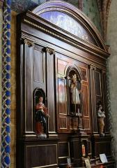 Eglise Saint-Jacques-le-Majeur - Français:   Salviac - Église Saint-Jacques-le-Majeur - Un retable d\'un autel latéral