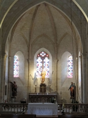 Eglise Saint-Jacques-le-Majeur - Français:   Salviac - Église Saint-Jacques-le-Majeur - Le choeur