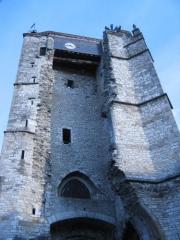 Ancienne église Saint-Martin et son beffroi - English: Souillac belfry, Lot, France.