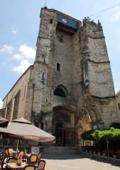 Ancienne église Saint-Martin et son beffroi -  Remains (the tower) of another old church in Souillac. Now an exposition building for arts