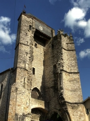 Ancienne église Saint-Martin et son beffroi -  Ruined Church Tower