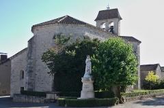 Eglise -  01082013 - Église de Villesèque