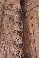 Eglise -  Église de Villesèque - 02082013 - Détail du rétable