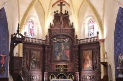 Eglise -  Église de Villesèque - 02082013 - Retable