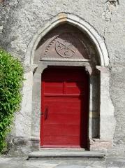 Eglise Notre-Dame - Français:   Porte de l\'église Notre-Dame, Arreau, Hautes-Pyrénées, France.