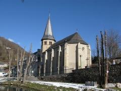 Eglise Saint-Exupère - English: L'Église Saint-Exupère d'Arreau.
