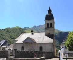 Eglise d'Arrens - Église Saint-Pierre d'Arrens (Hautes-Pyrénées)