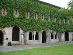 Abbaye de l'Escaladieu - Deutsch: Ostseite der Klausur