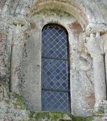 Eglise de Mazères - Français:   Castelnau-Rivière-Basse - Mazères - Église Saint-Jean-Baptiste - Fenêtre de la façade nord