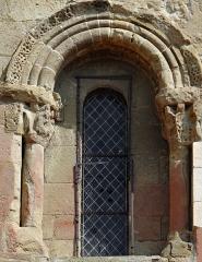Eglise de Mazères - Français:   Castelnau-Rivière-Basse - Mazères - Église Saint-Jean-Baptiste - Fenêtre de la façade sud
