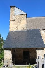 Eglise Saint-Calixte - Église Saint-Calixte de Cazaux-Fréchet-Anéran-Camors (Hautes-Pyrénées)