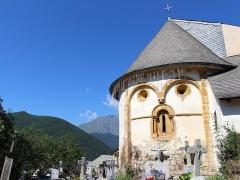 Eglise Notre-Dame ou Saint-Laurent - Église Saint-Laurent de Jézeau (Hautes-Pyrénées)