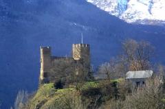 Restes du château de Sainte-Marie -  chateau-sainte-marie-luz-saint-sauveur-2