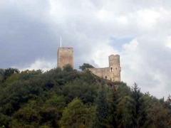 Restes du château de Sainte-Marie -  chateau-sainte-marie-luz-saint-sauveur-3