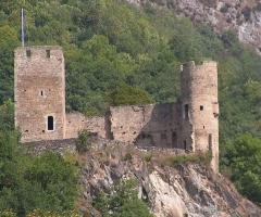 Restes du château de Sainte-Marie -  chateau-sainte-marie-luz-saint-sauveur-4