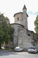 Eglise de l'Assomption -  Vue de l\'église de l\'Assomption de Maubourguet / Hautes-Pyrénnées, France