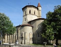 Eglise de l'Assomption - Français:   Maubourguet - Église de l\'Assomption - Ensemble depuis le chevet