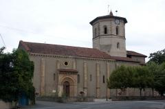 Eglise de l'Assomption -  Église dNotre-Dame de l\'Assomption de Maubourguet, Maubourguet, Hautes-Pyrénées, France