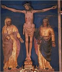 Eglise Saint-Barthélémy et ses annexes (tour et chapelle) - Christ en croix