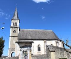 Eglise Saint-Saturnin - Église Saint-Saturnin de Pouzac (Hautes-Pyrénées)