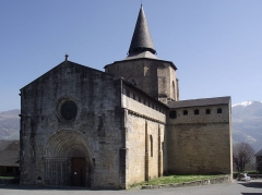 Eglise Saint-Savin - Avañe'ẽ: Abbatiale de Saint-Savin (Hautes-Pyrénées, France)