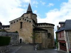 Eglise Saint-Savin - L'église abbatiale de Saint-Savin, Hautes-Pyrénées, France.