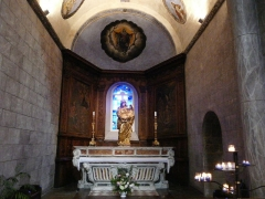 Eglise Saint-Savin - Absidiole de l'église abbatiale de Saint-Savin, Hautes-Pyrénées, France.