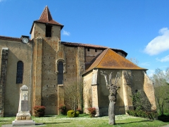 Ancienne abbaye - English: The abbey of Saint-Sever-de-Rustan.