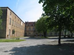 Ancienne abbaye - English: The abbey of Saint-Sever-de-Rustan.