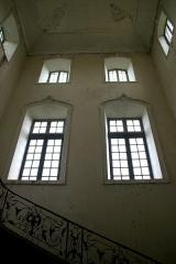 Ancienne abbaye -  Cage de l'escalier monumental (abbaye Saint-Sever-de-Rustan)