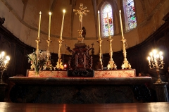 Ancienne abbaye -  Maître-autel (abbaye Saint-Sever-de-Rustan)