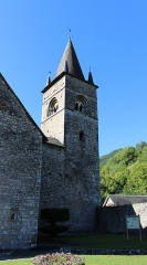 Eglise Saint-Pierre et Saint-Etienne - Église Saint-Pierre-Saint-Ebons de Sarrancolin (Hautes-Pyrénées))