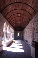 Ancienne église des Carmes -  Barrel Vault at the The Cloisters in New York City.