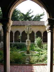 Ancienne église des Carmes -  The cloisters, trie cloister