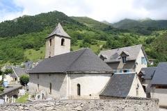 Eglise Saint-Félix - Église Saint-Félix-de-Valois d'Aulon (Hautes-Pyrénées)