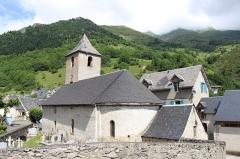 Eglise Saint-Félix - Église Saint-Félix-de-Valois d'Aulon